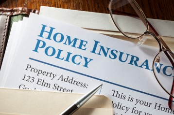 image of a home insurance policy