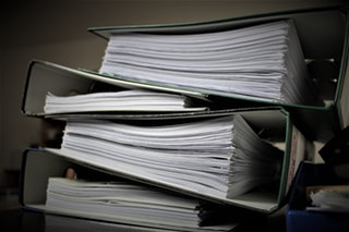 binders of workers comp info