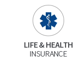 life and health insurance icon
